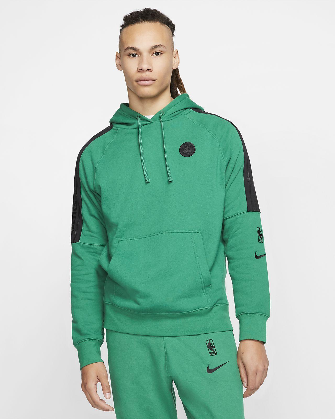 Boston Celtics Courtside Nike NBA hættetrøje til mænd