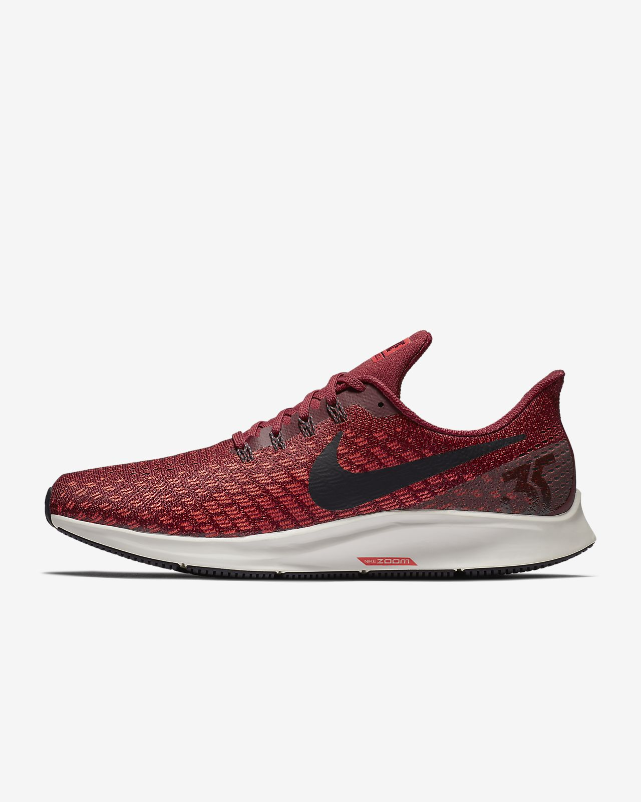 Nike Performance AIR ZOOM PEGASUS 35 - Neutral running shoes - bright crimson/gridiron/gym red