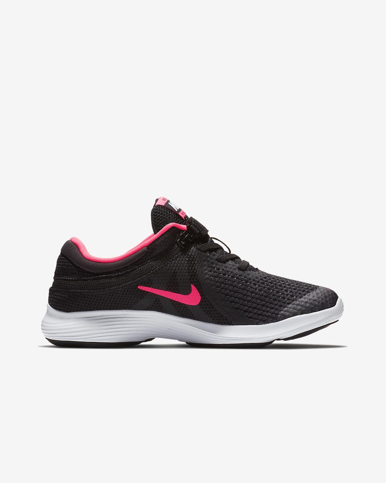 huge discount 51e3a 286ad ... Nike Revolution 4 FlyEase Big Kids  Running Shoe