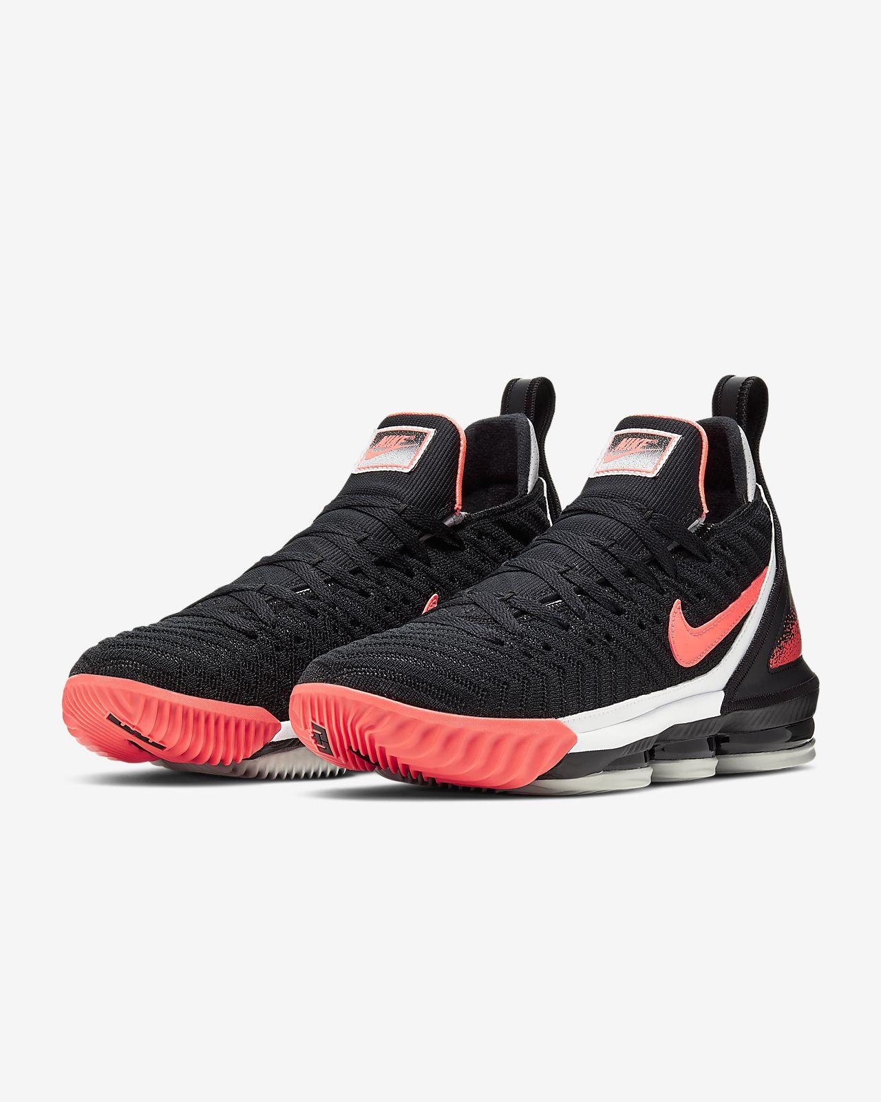 54048d2578be2 LeBron XVI Hot Lava Shoe