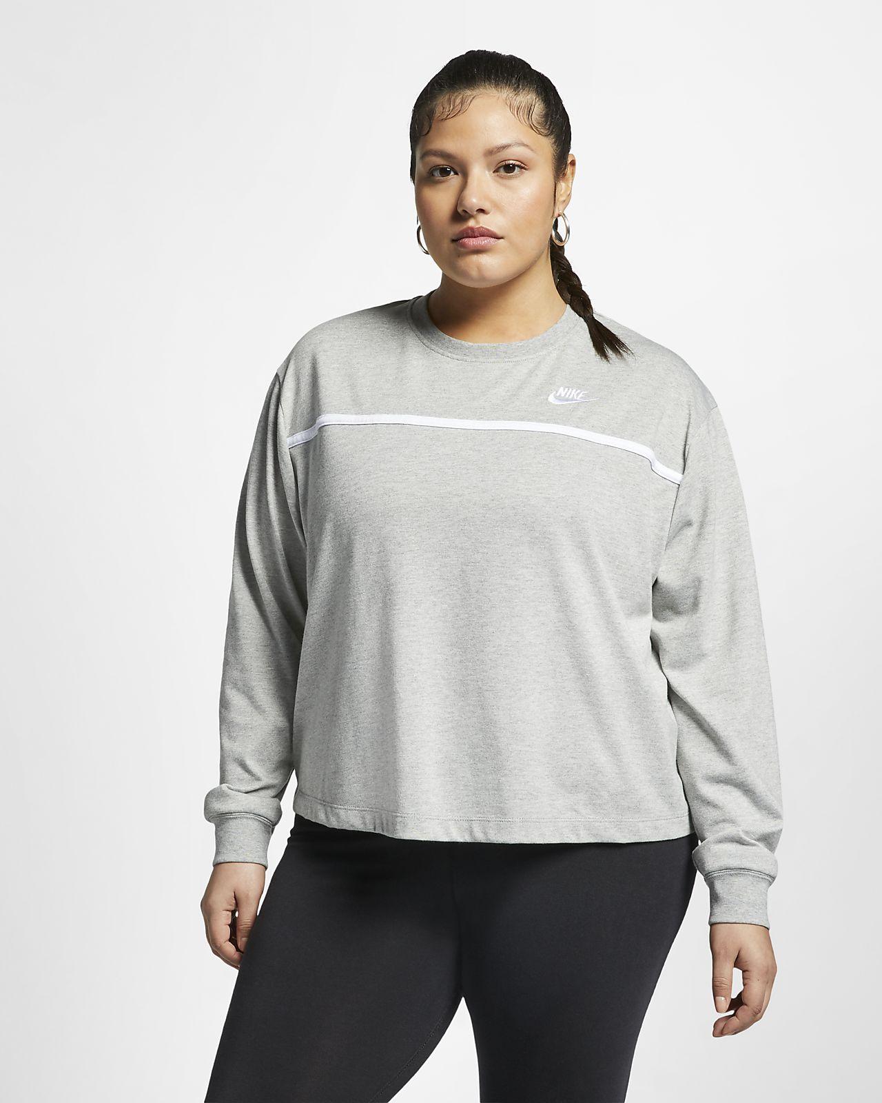 Nike Sportswear Women's Jersey Crew (Plus Size)