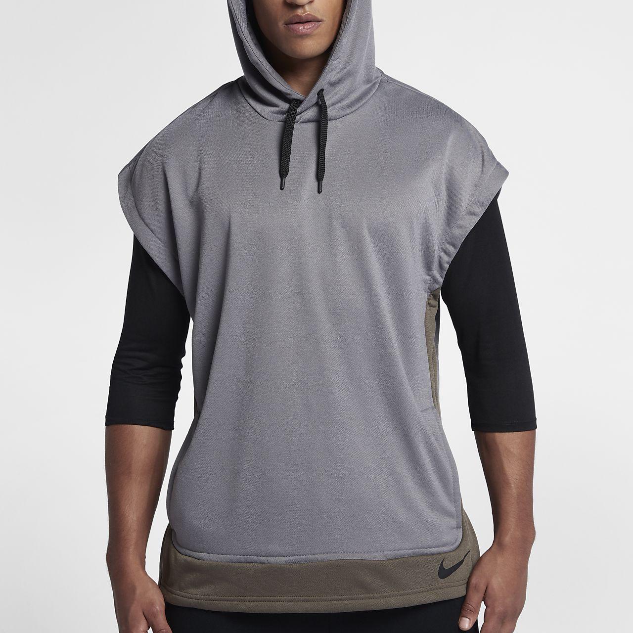 649b18e2f3b8 Nike Dri-FIT Men s Sleeveless Training Hoodie. Nike.com
