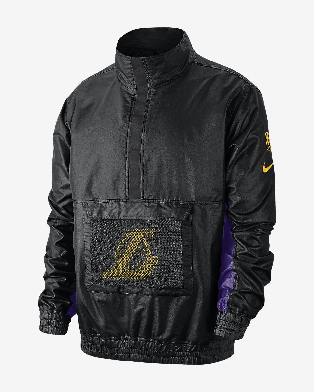 Los Angeles Lakers Nike könnyű férfi NBA-s kabát