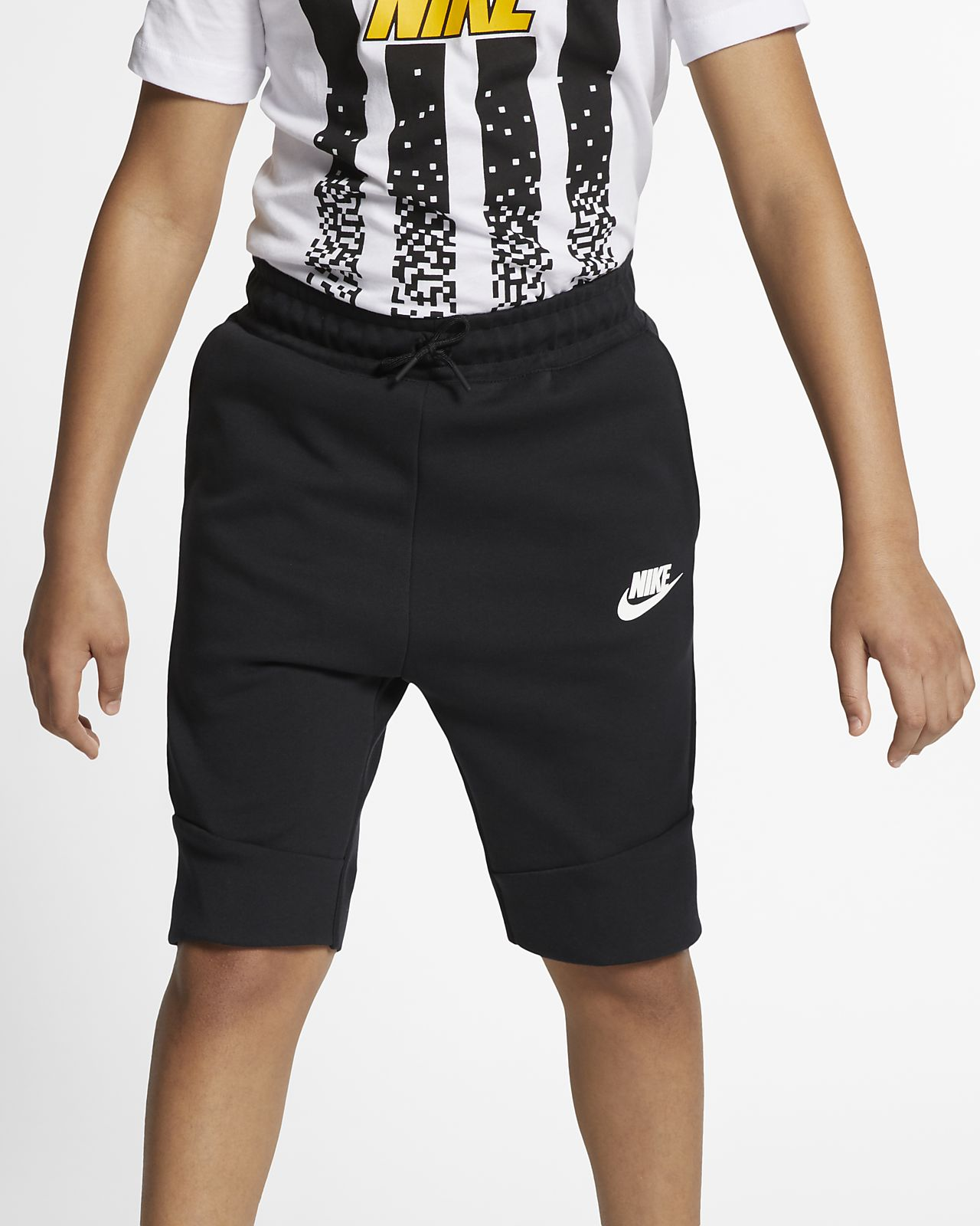 29ca6501e60 Shorts para niños talla grande Nike Sportswear Tech Fleece. Nike.com MX