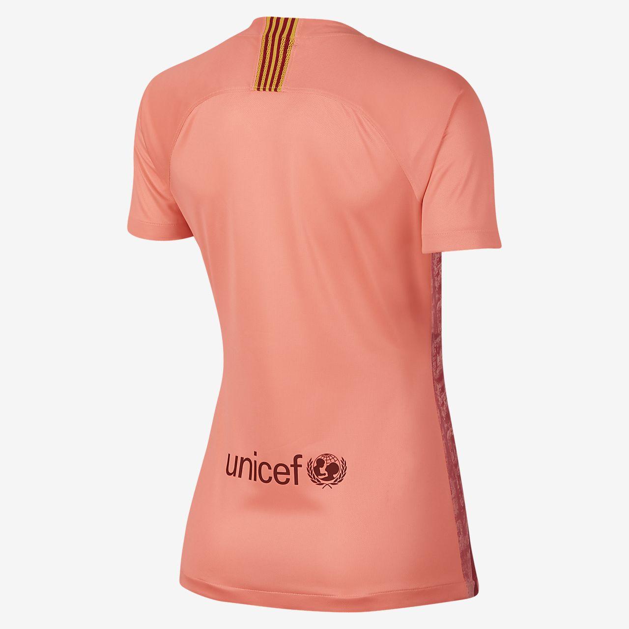 2864c943f8541 Camiseta alternativa para mujer Stadium del FC Barcelona 2019. Nike ...