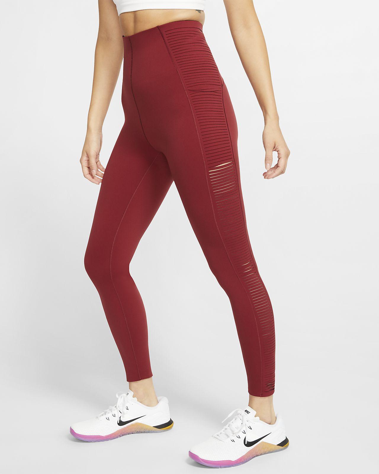 Nike Mallas de entrenamiento con flecos - Mujer