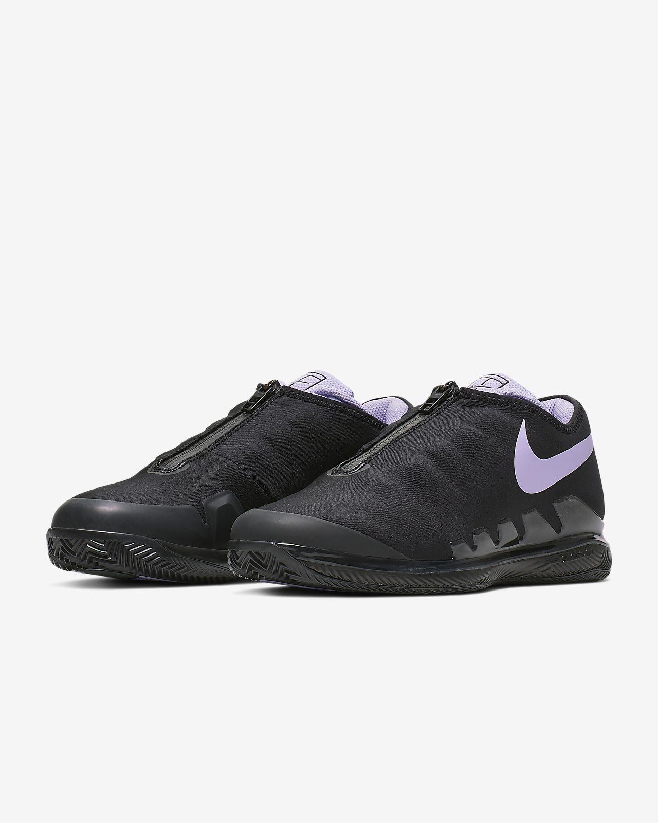 b1fc8f5f8f ... Chaussure de tennis pour terre battue NikeCourt Air Zoom Vapor X Glove  pour Femme