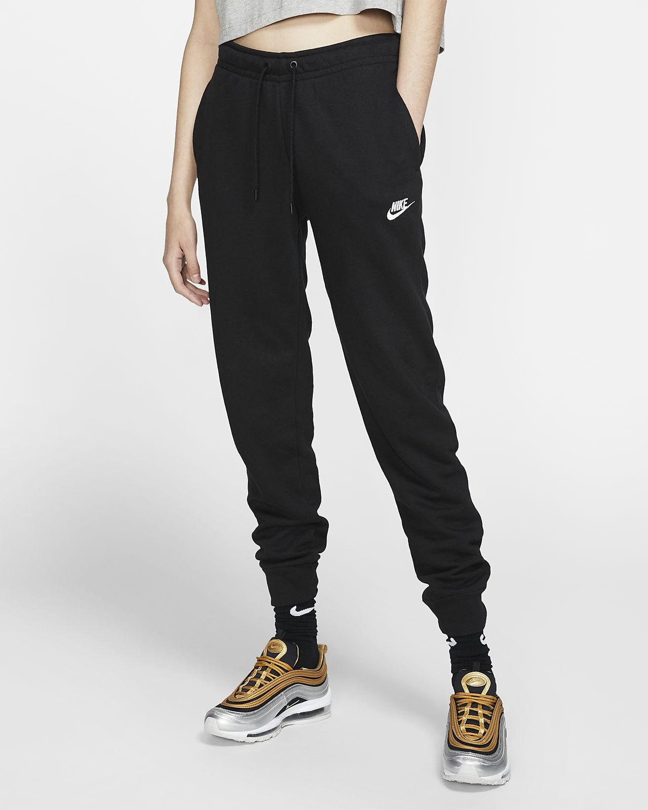 adc3ed4feb545 Nike Sportswear Essential Women's Fleece Pants. Nike.com