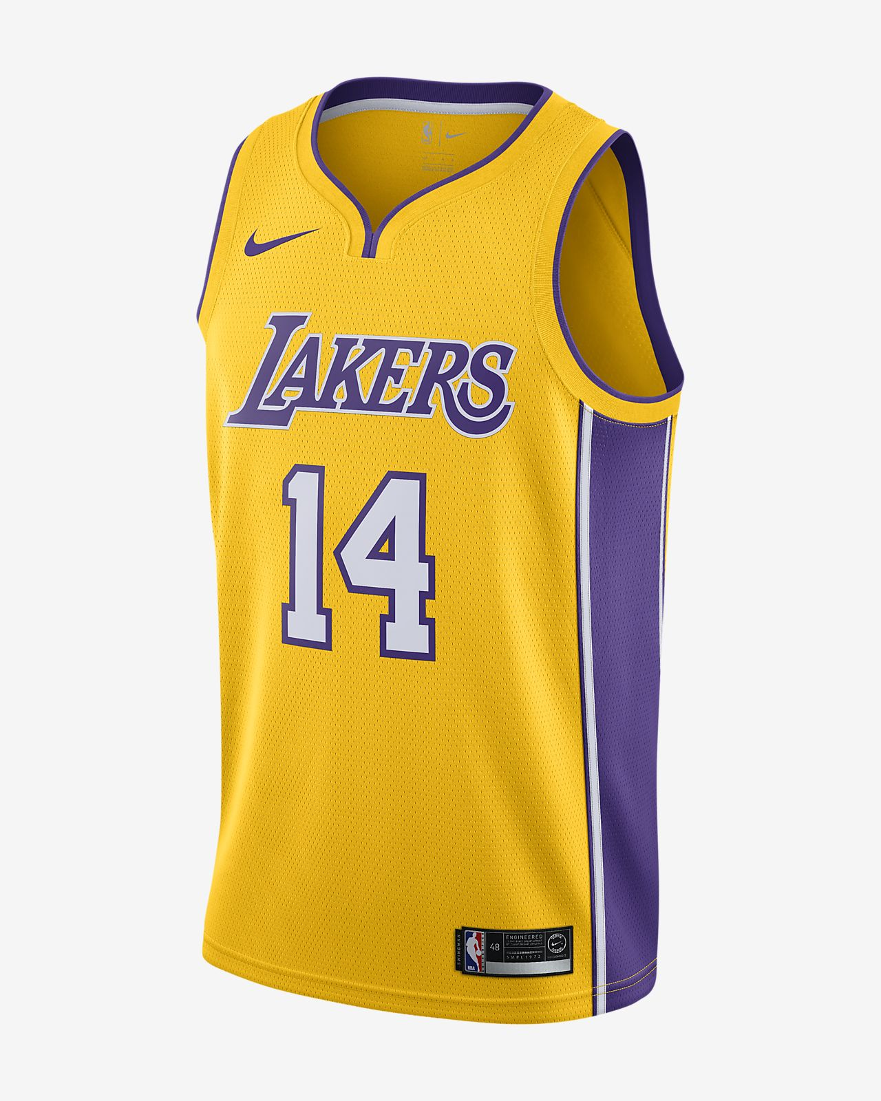 c88c6ee9e Brandon Ingram Icon Edition Swingman Jersey (Los Angeles Lakers ...