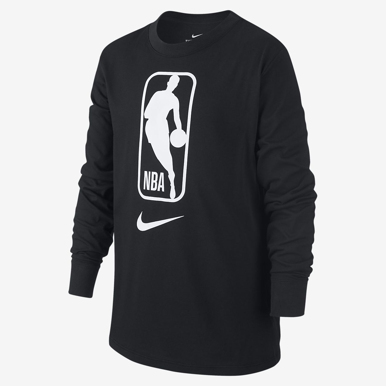 Nike Dri-FIT NBA-kindershirt met lange mouwen