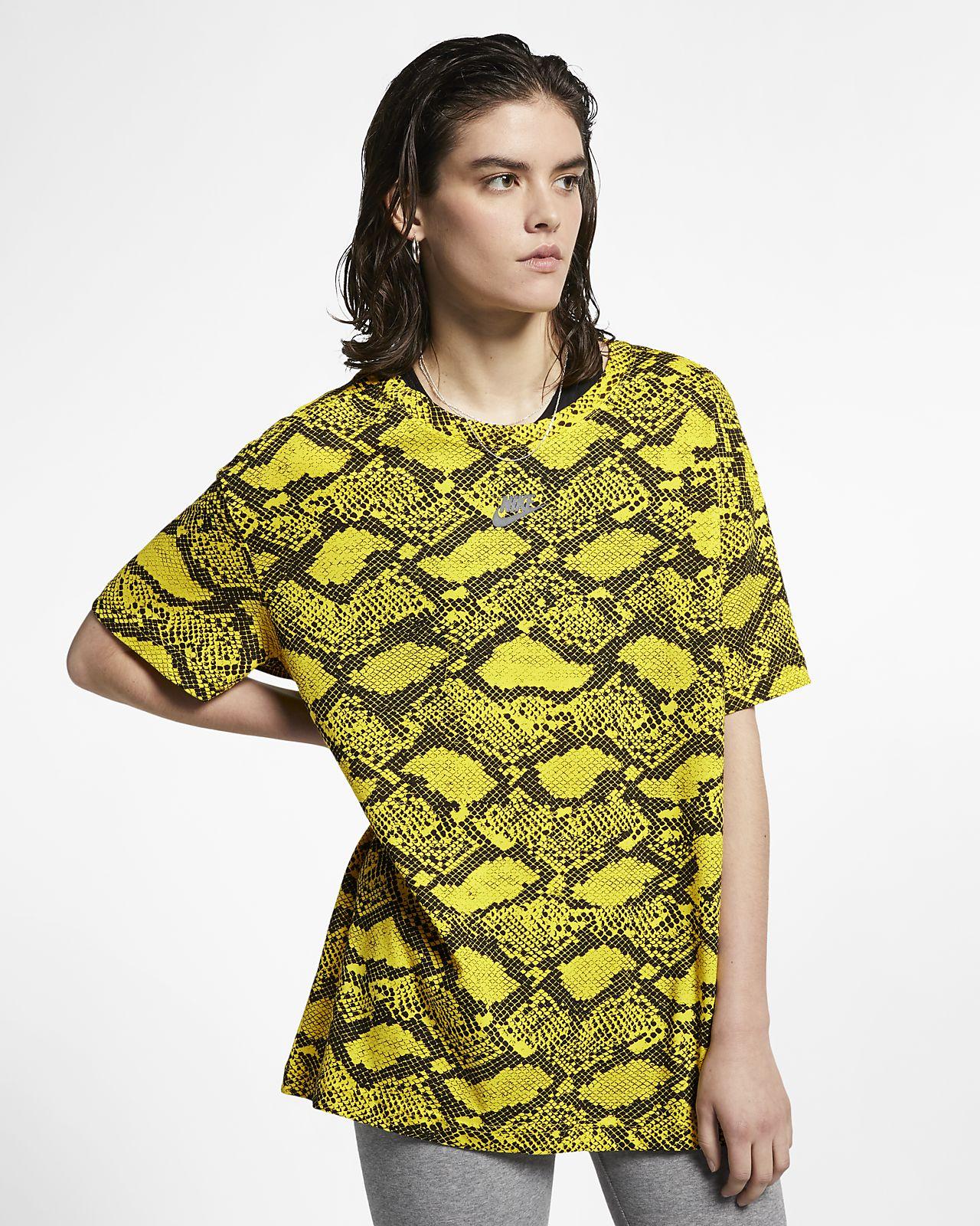 T-shirt animalier Nike Sportswear - Donna