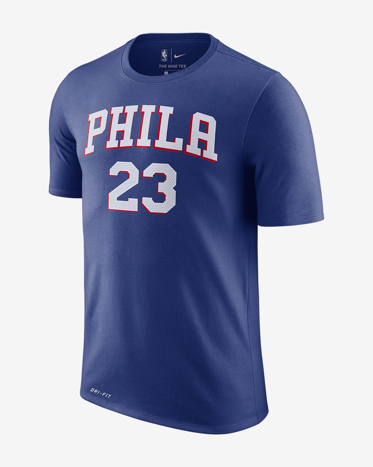 费城 76 人队 Nike Dri-FIT NBA 男子T恤