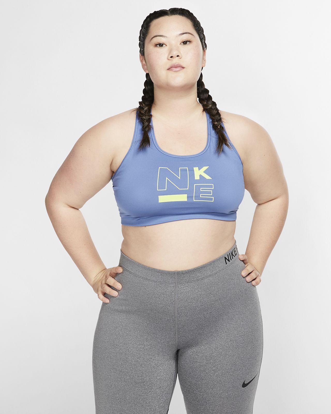 Nike Swoosh Women's Medium Support Sports Bra (Plus Size)