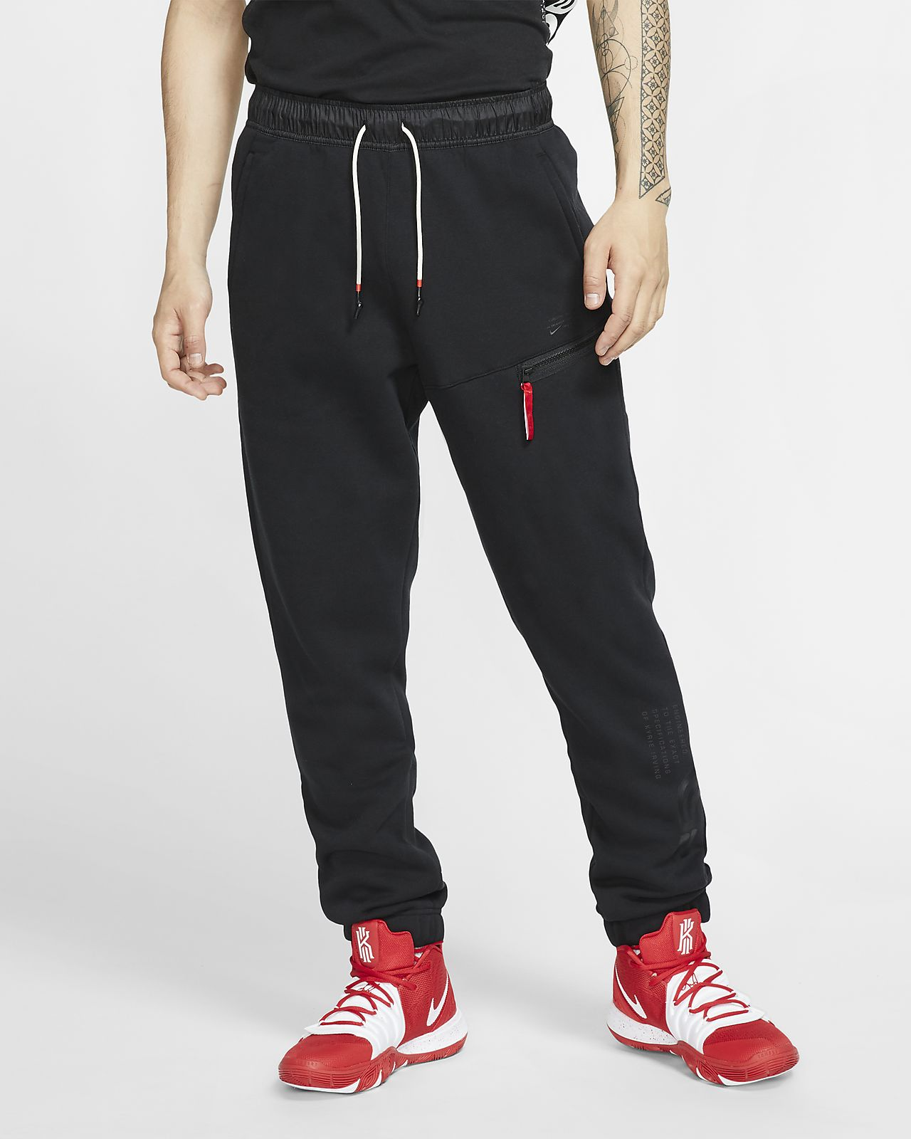Pantaloni da basket in fleece Kyrie Uomo. Nike IT