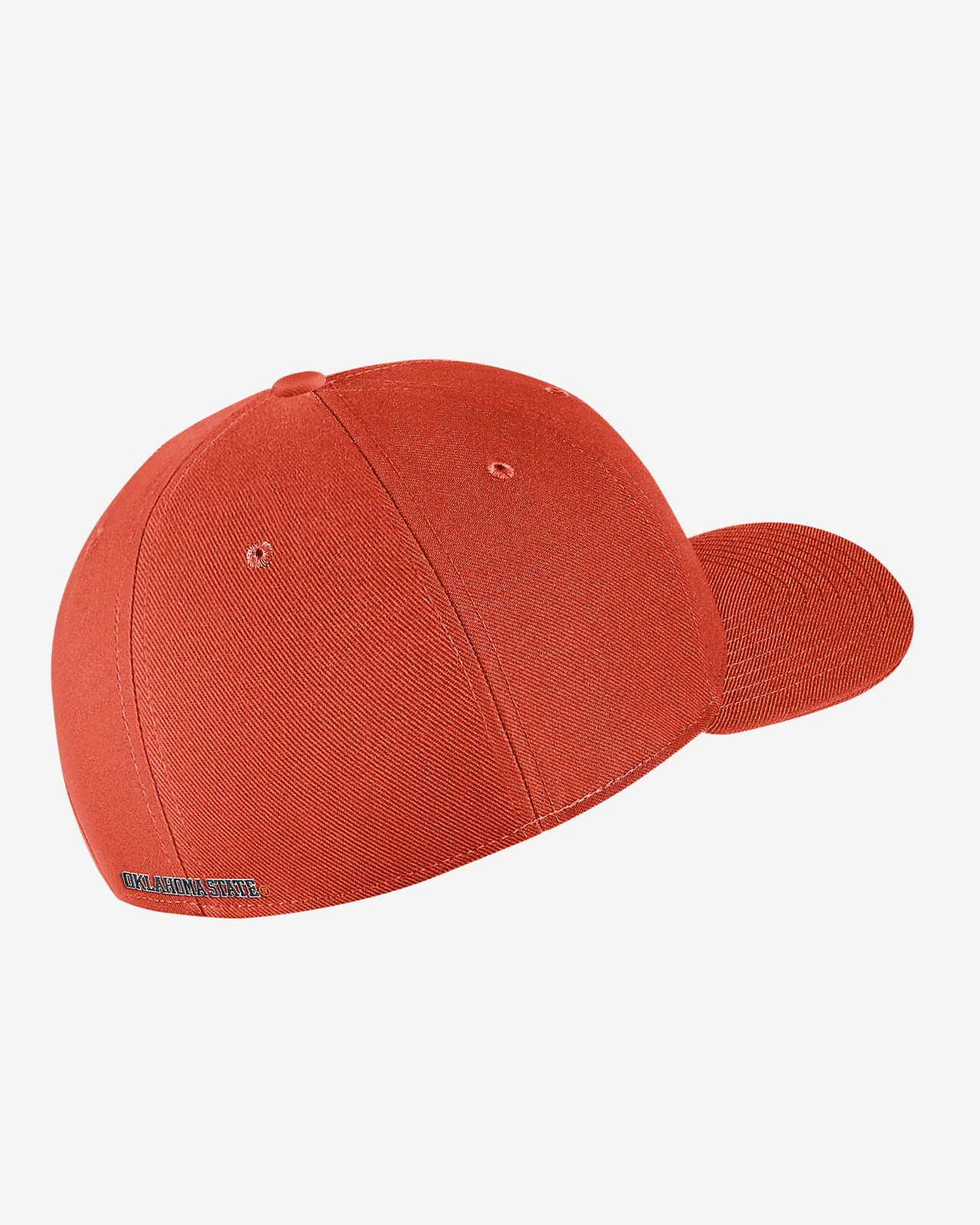 f74e5c58 ... Nike College Dri-FIT Classic99 Swoosh Flex (Oklahoma State) Fitted Hat