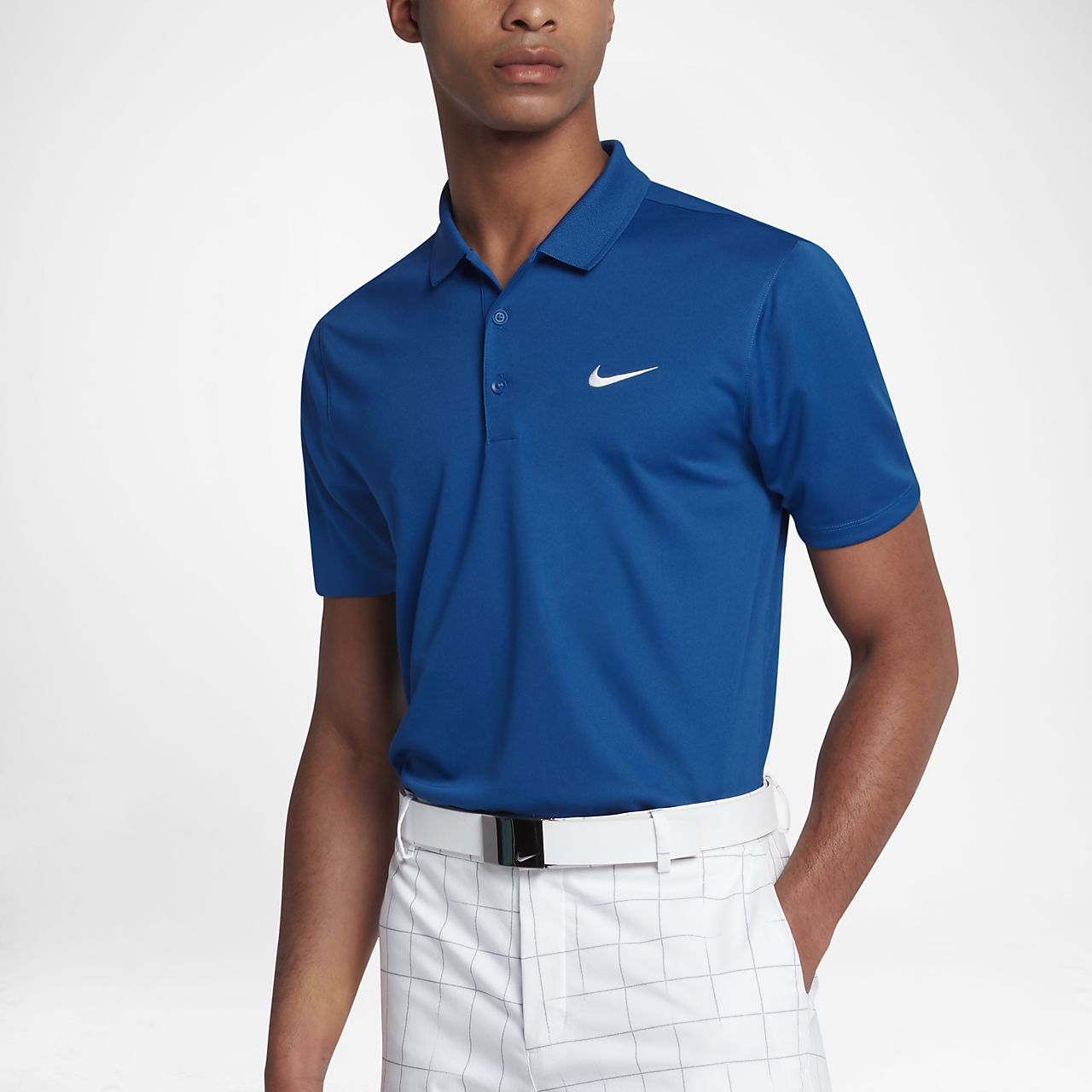 Nike Victory Slim Fit Solid Men Golf Polo