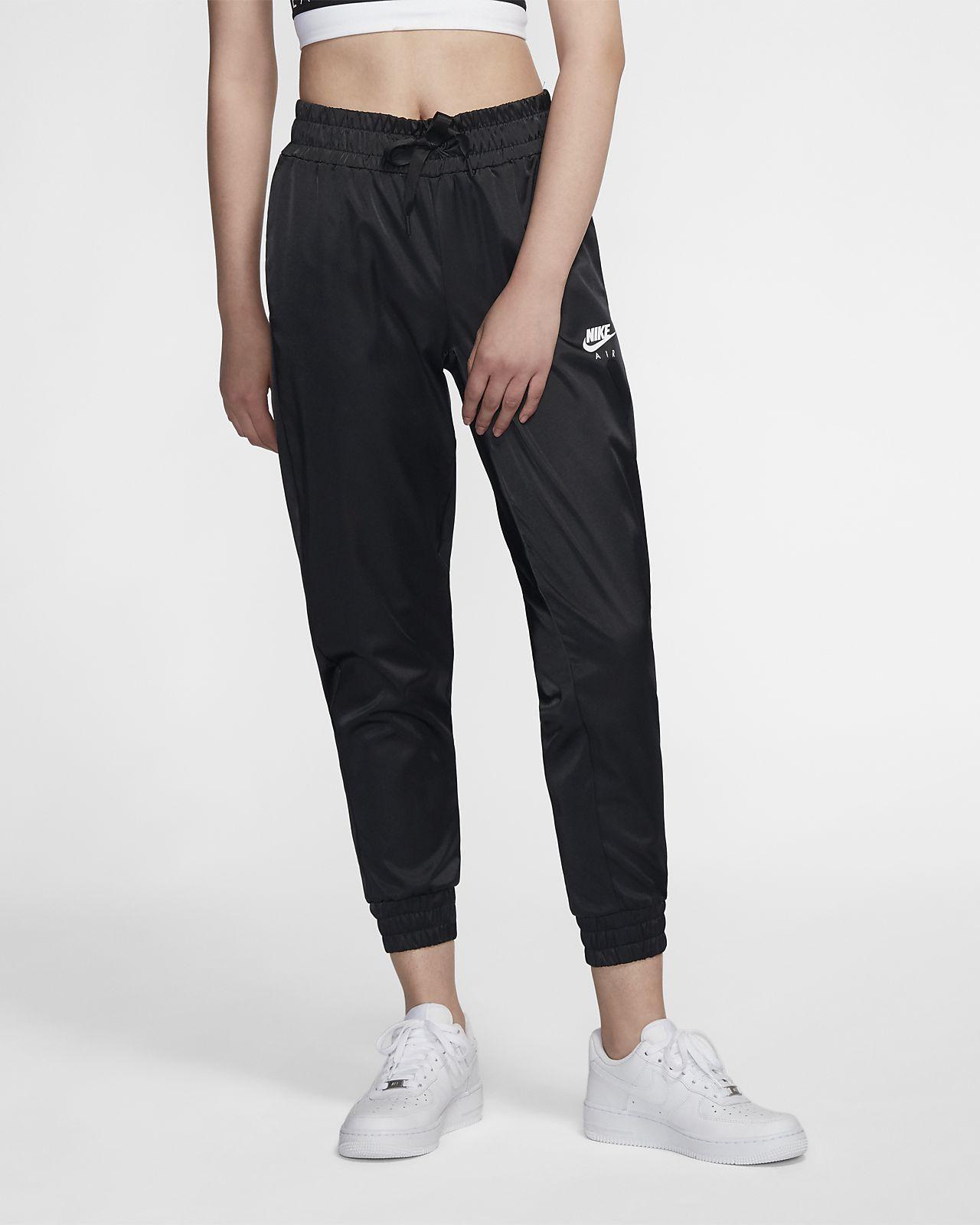 Nike Air 女款緞面田徑長褲