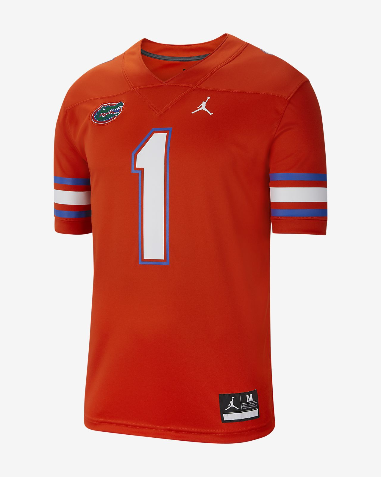 Nike College Dri-FIT Game (Florida) Men's Football Jersey