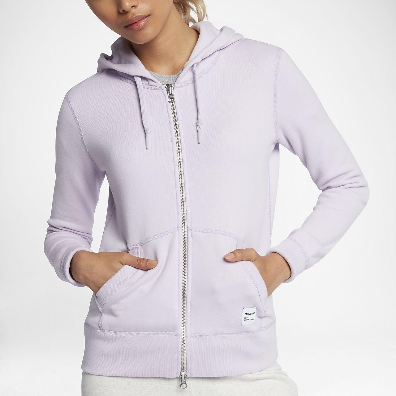 Converse Essentials Sportswear Full-Zip Women's Hoodie
