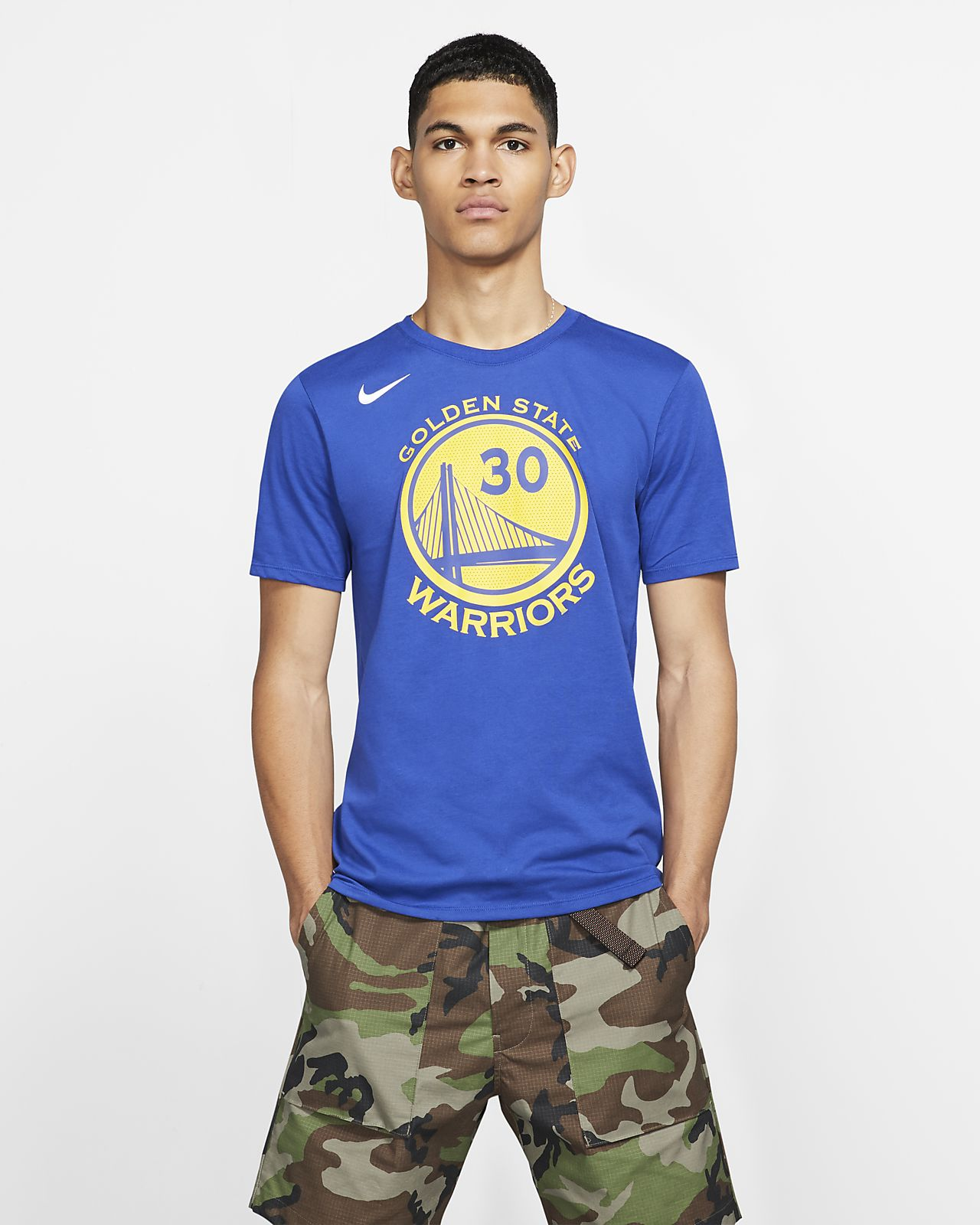 Golden State Warriors Nike Dry Men's NBA T-Shirt