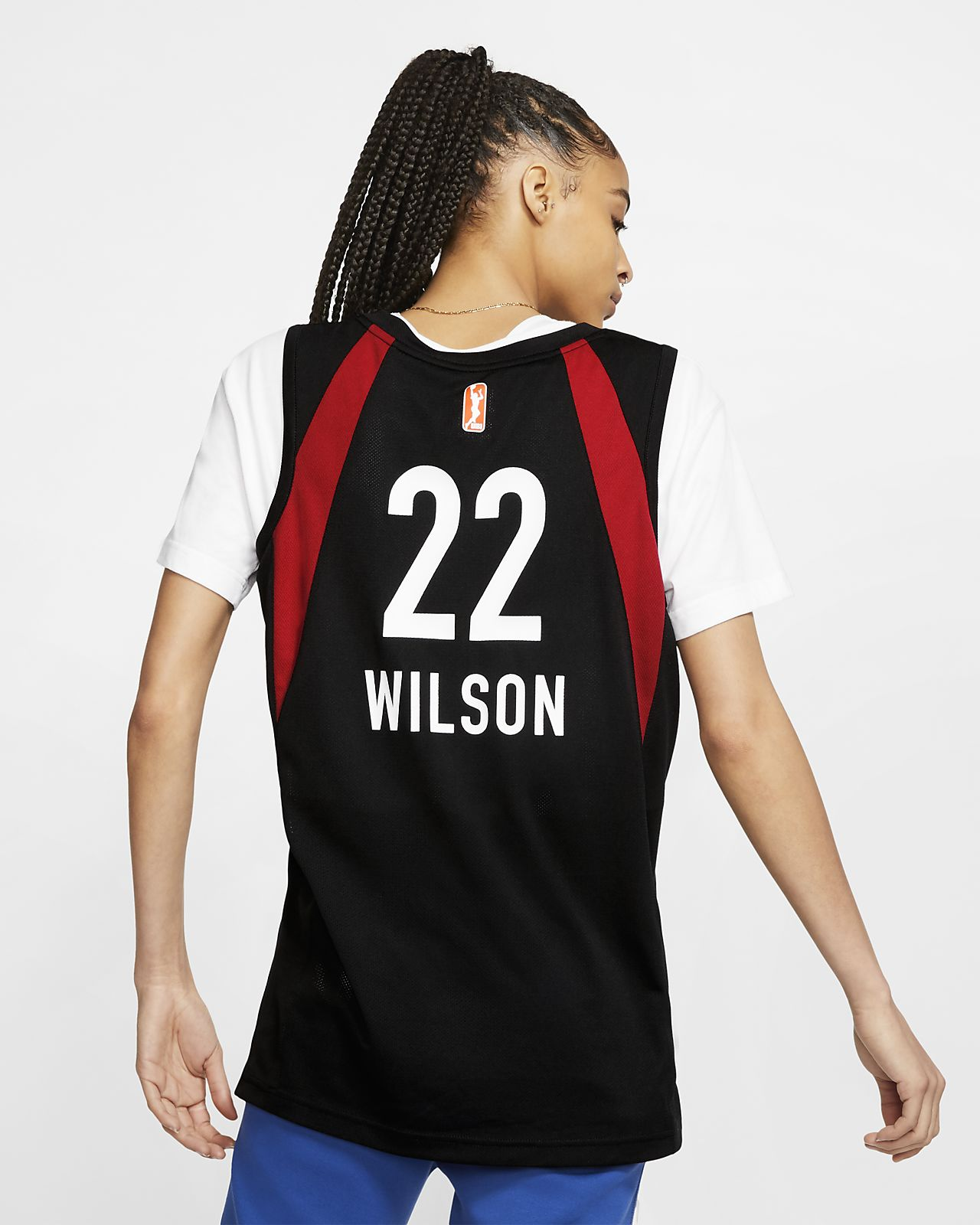 7a7d87ec9ae A'ja Wilson Las Vegas Aces Nike WNBA Basketball Jersey. Nike.com