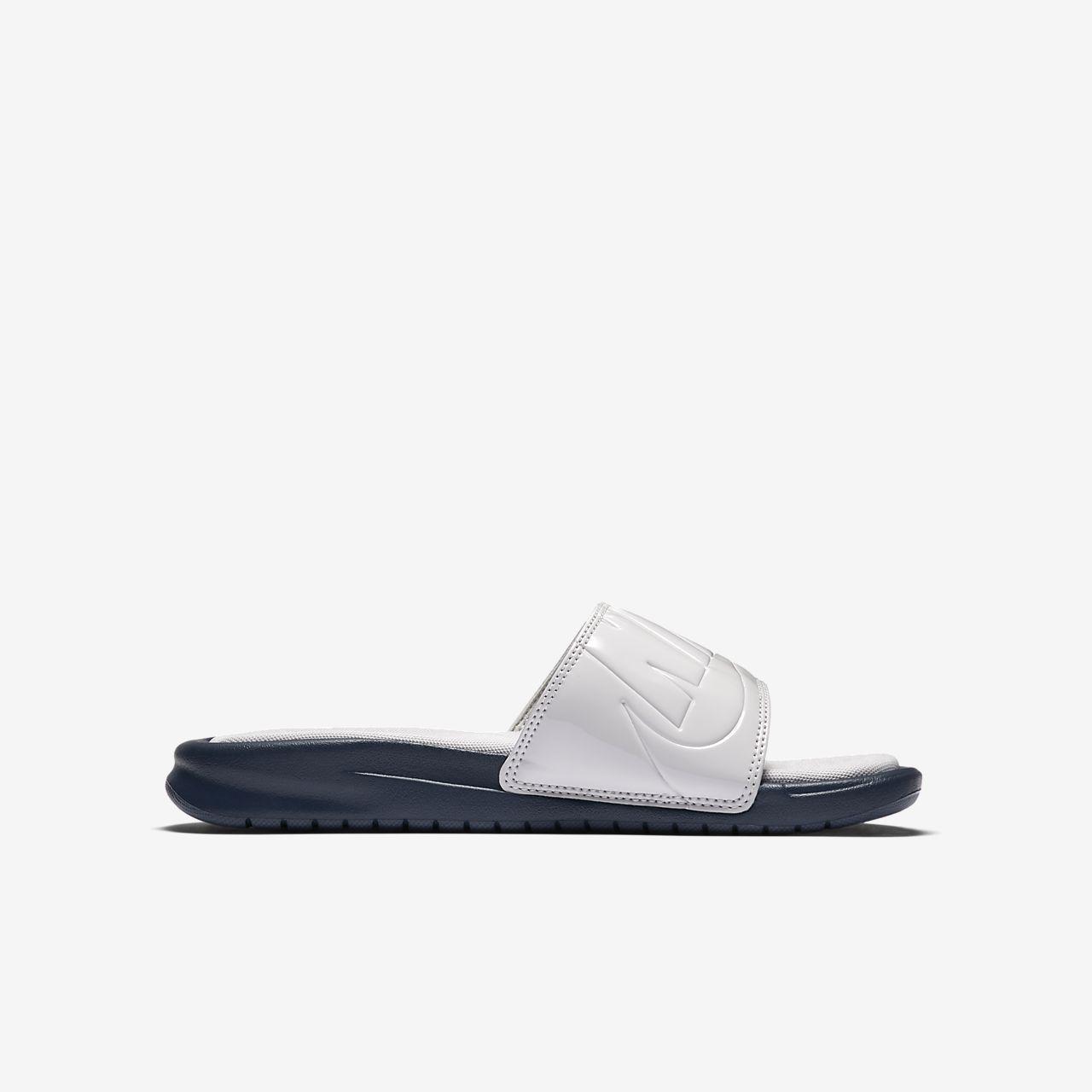 Scarpe sportive beige per donna Nike Benassi Precio Barato Para La Venta Salida Más Barata zwG631W