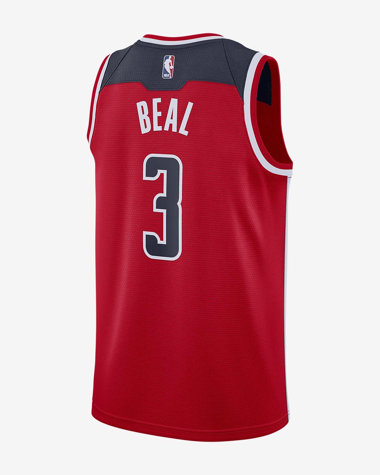 3b9345b43af ... Bradley Beal Icon Edition Swingman (Washington Wizards) Men's Nike NBA  Connected Jersey