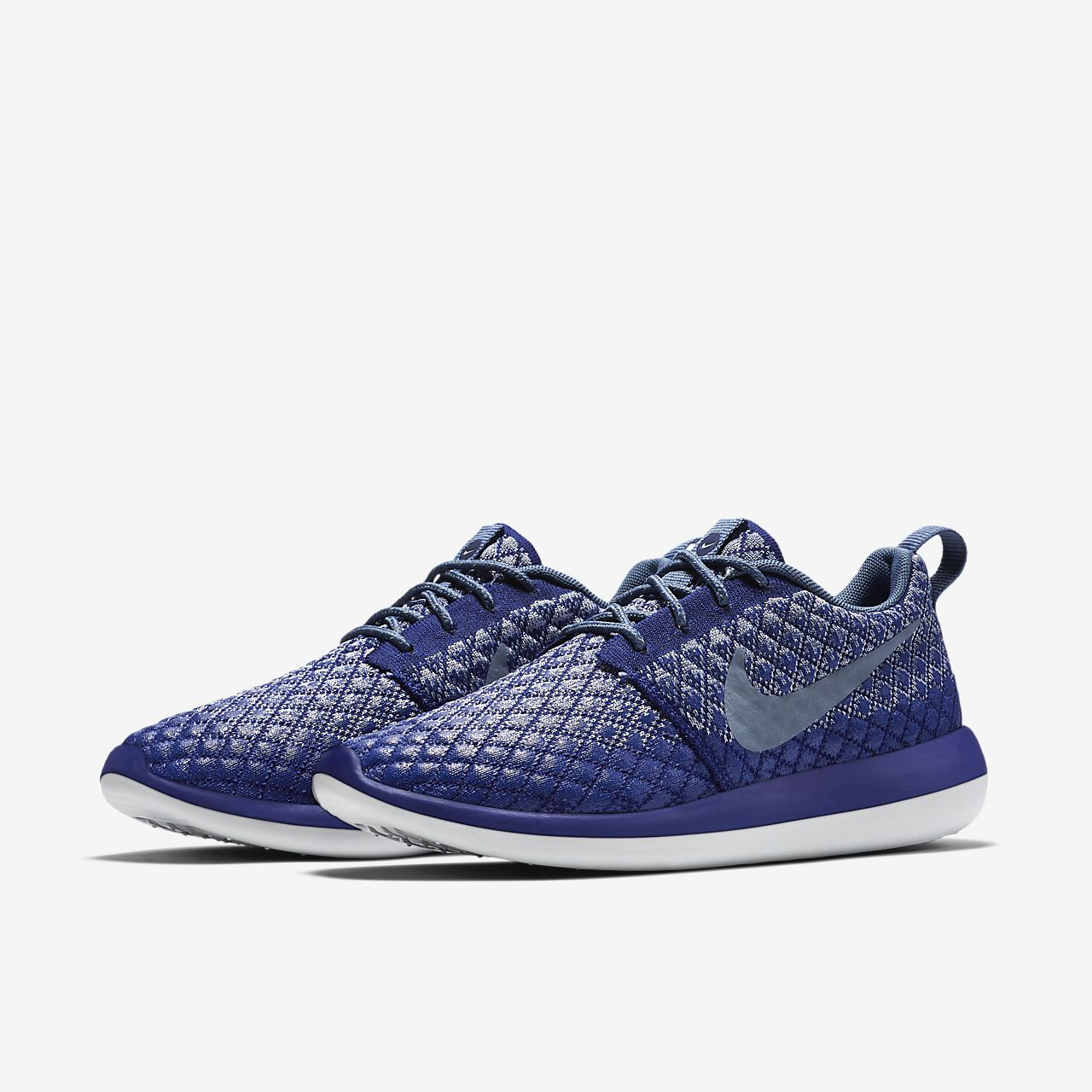 nike roshe two flyknit mens wolf grey nz