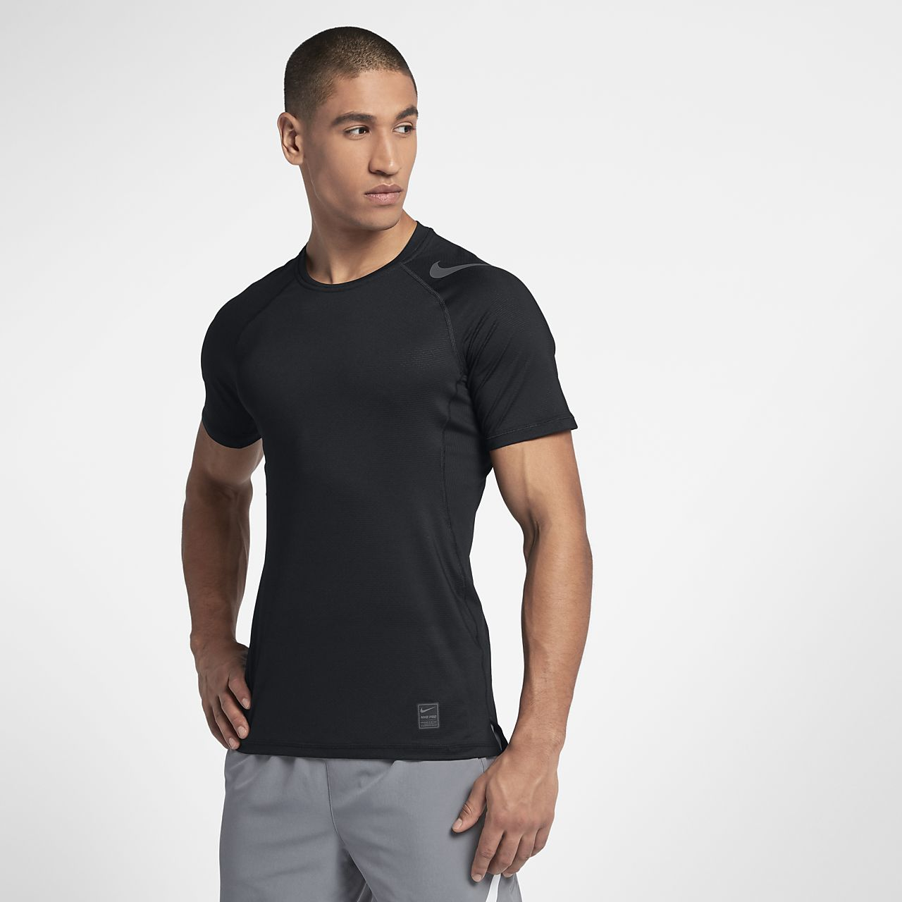 bcfc23c089 Nike Pro HyperCool Men's Short-Sleeve Training Top. Nike.com AU