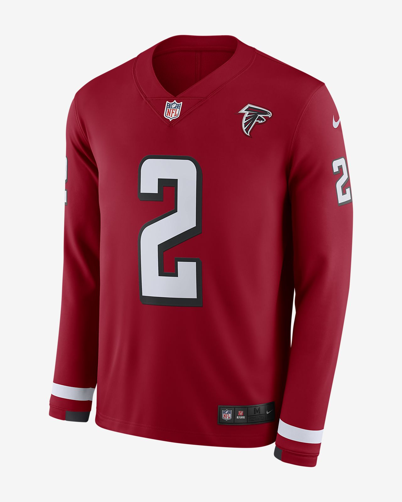 0e9401e5b90 NFL Atlanta Falcons Jersey (Matt Ryan) Men s Long-Sleeve Football ...