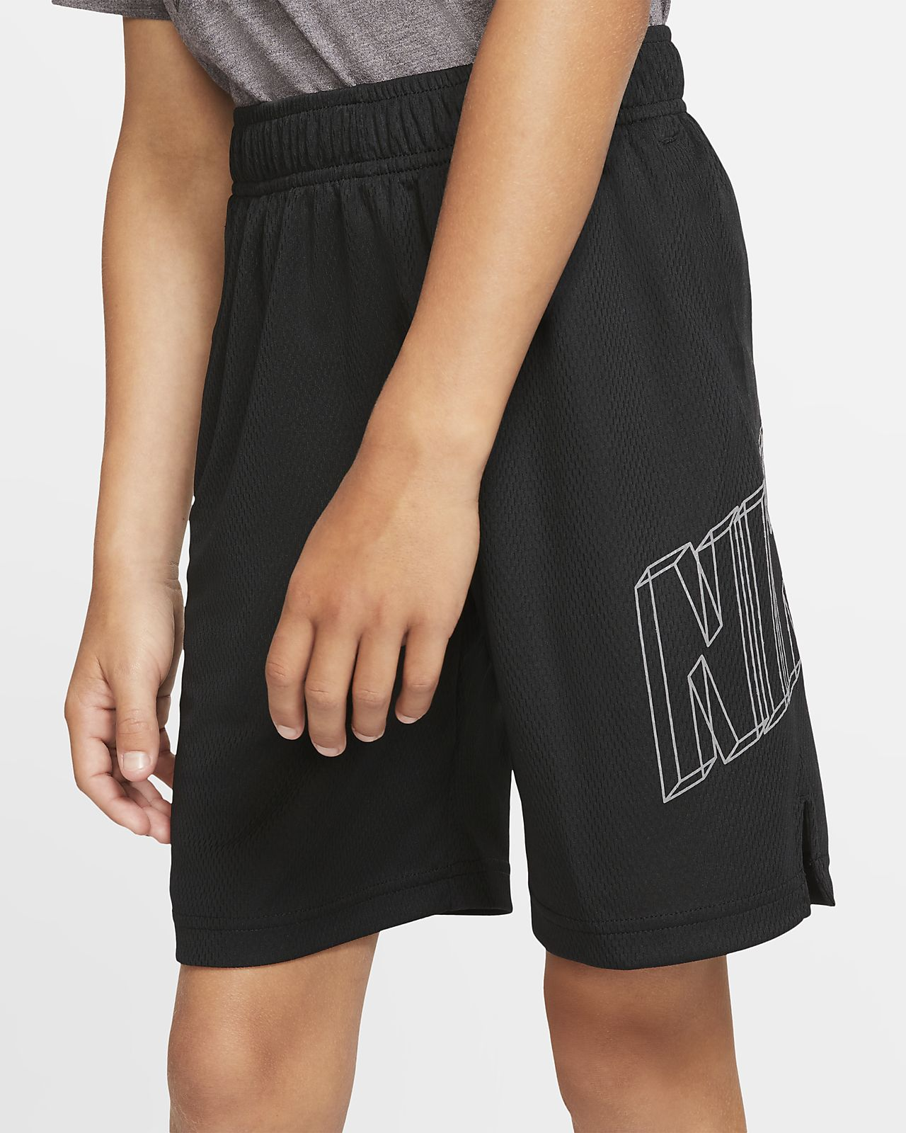 Nike Dri-FIT Jungen-Trainingsshorts mit Grafik