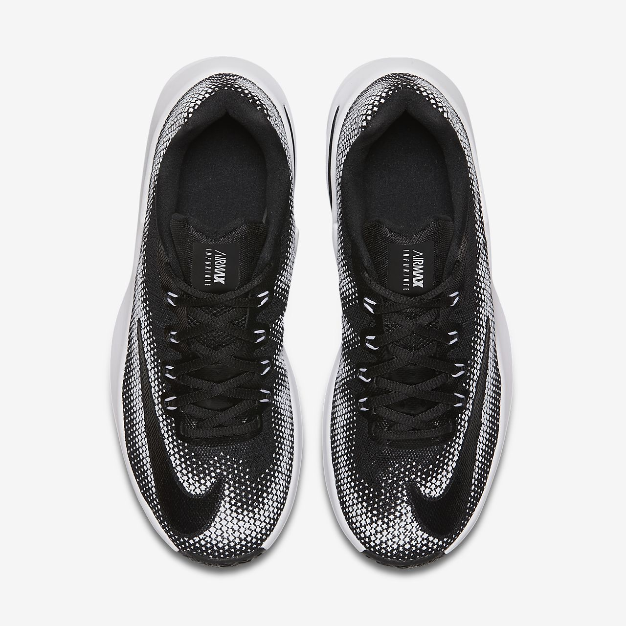 nike shoes air max black and white. Nike Air Max Infuriate Low Men\u0027s Basketball Shoe Shoes Black And White A