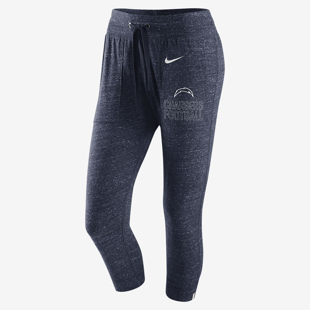 ... Nike Gym Vintage (NFL Chargers) Women's Capris