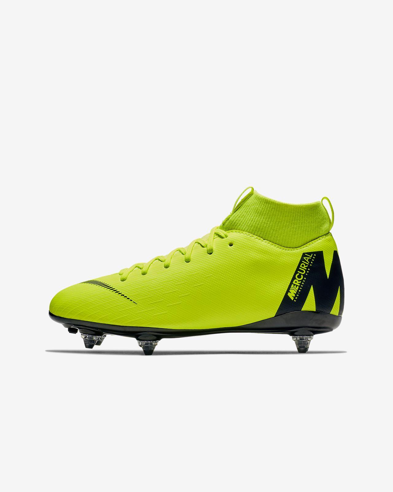 quality design 6ad93 56984 ... Chaussure de football à crampons pour terrain gras Nike Jr. Mercurial  Superfly VI Academy SG