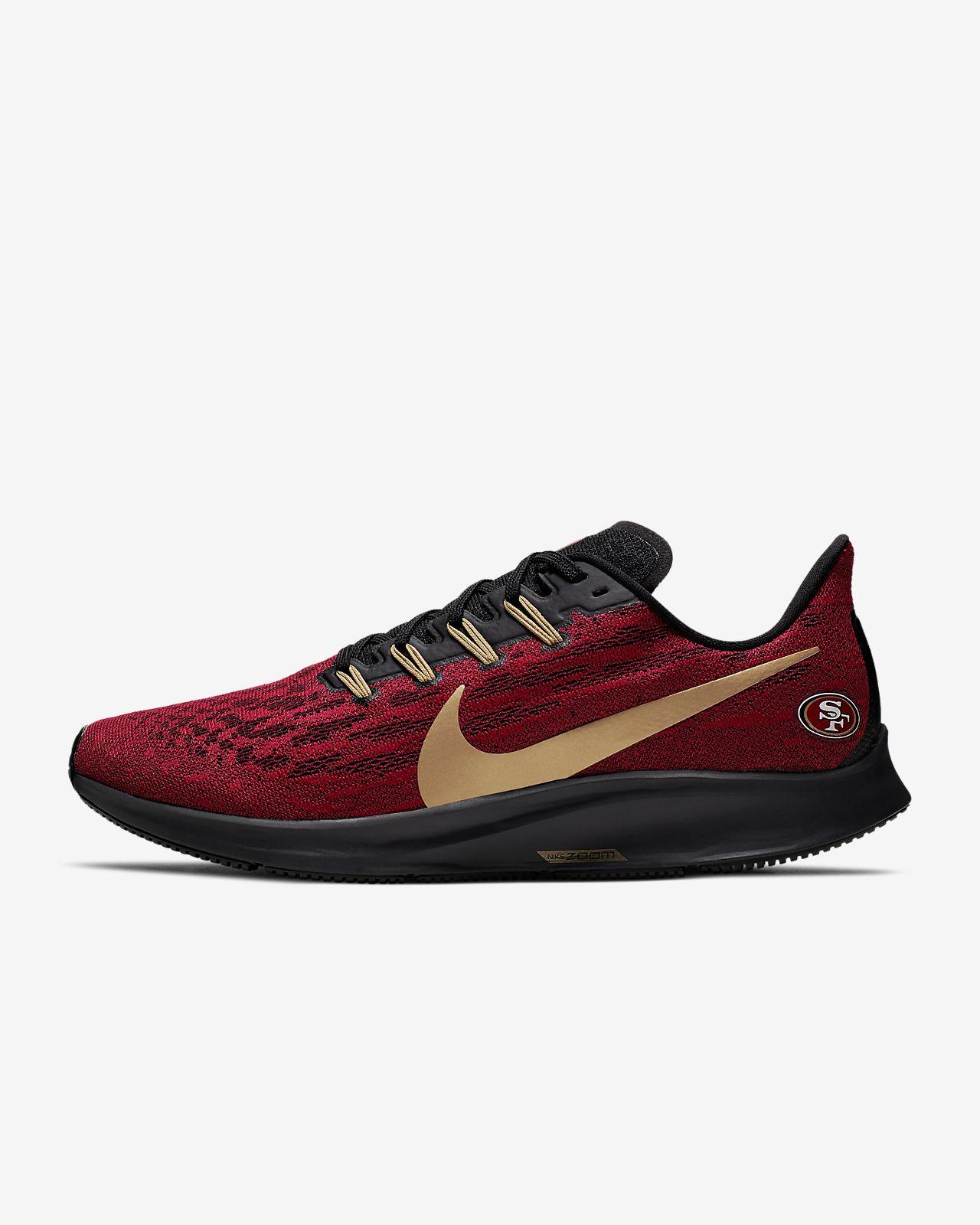 Nike Air Zoom Pegasus 36 (49ers) Men's Running Shoe