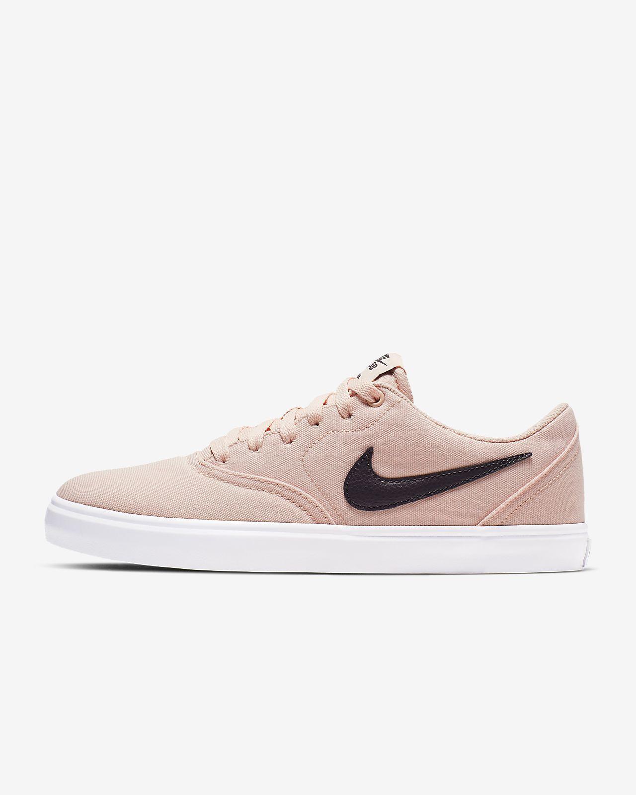 รองเท้าสเก็ตบอร์ดผู้หญิง Nike SB Check Solarsoft Canvas