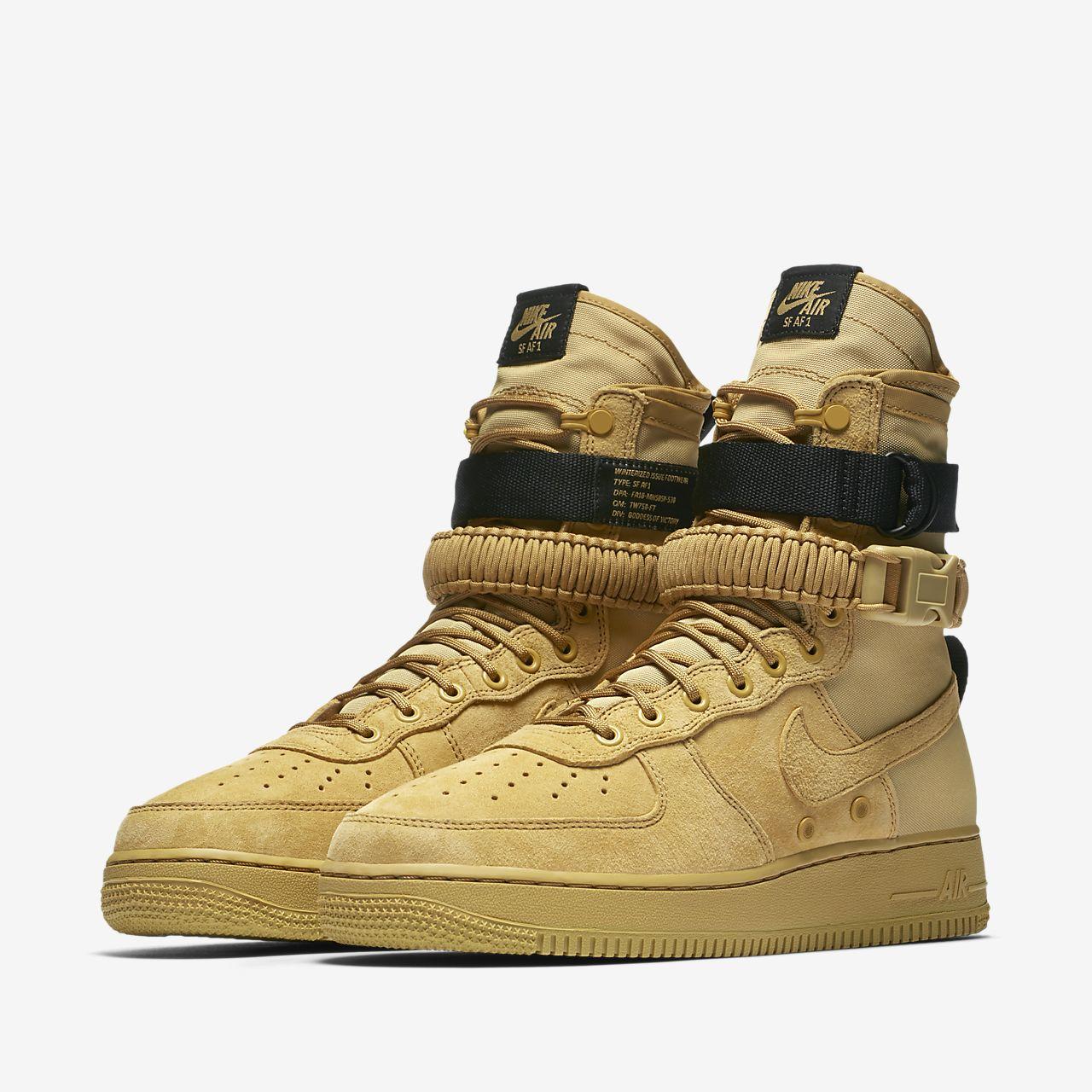 Bota para hombre Nike SF Air Force 1. Nike.com PR dafa57e9cab85