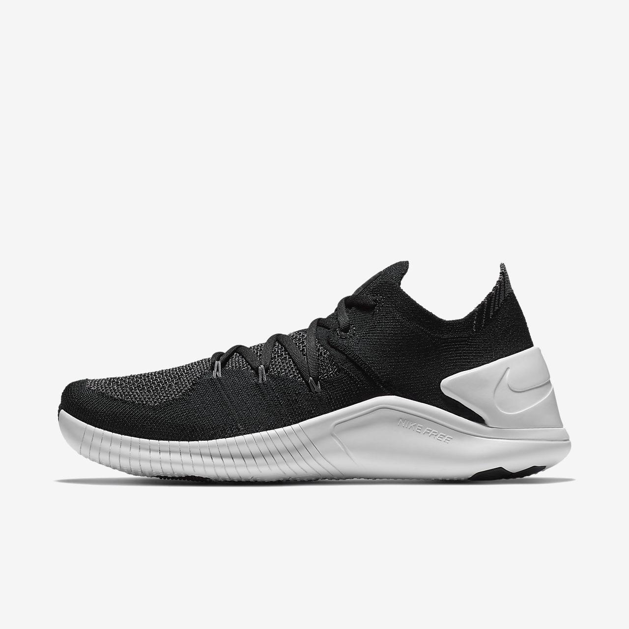 NIKE Womens Nike Free Tr Flyknit 3 942887-001 BLACK Womens Size 9