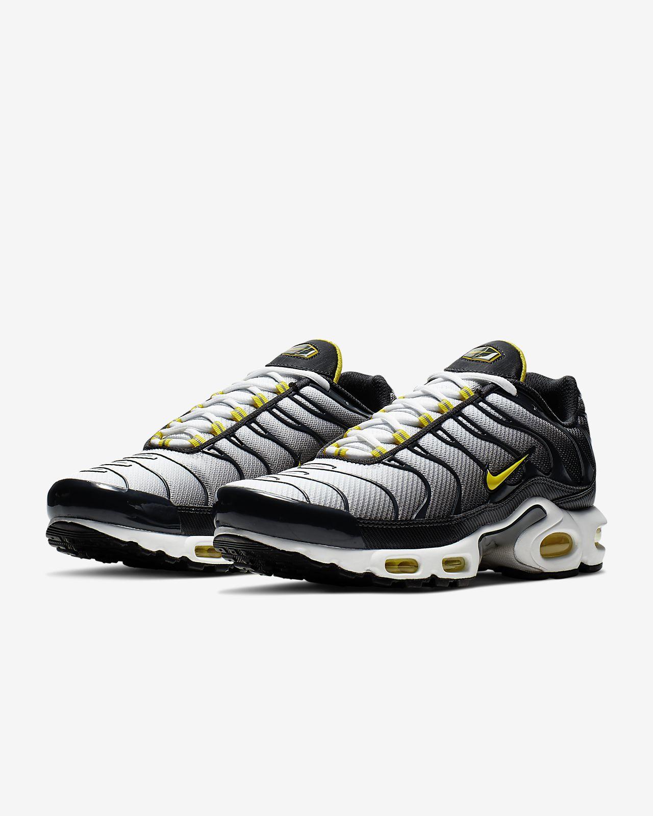 Nike Air Max Plus (Anthracite Opti Yellow White)