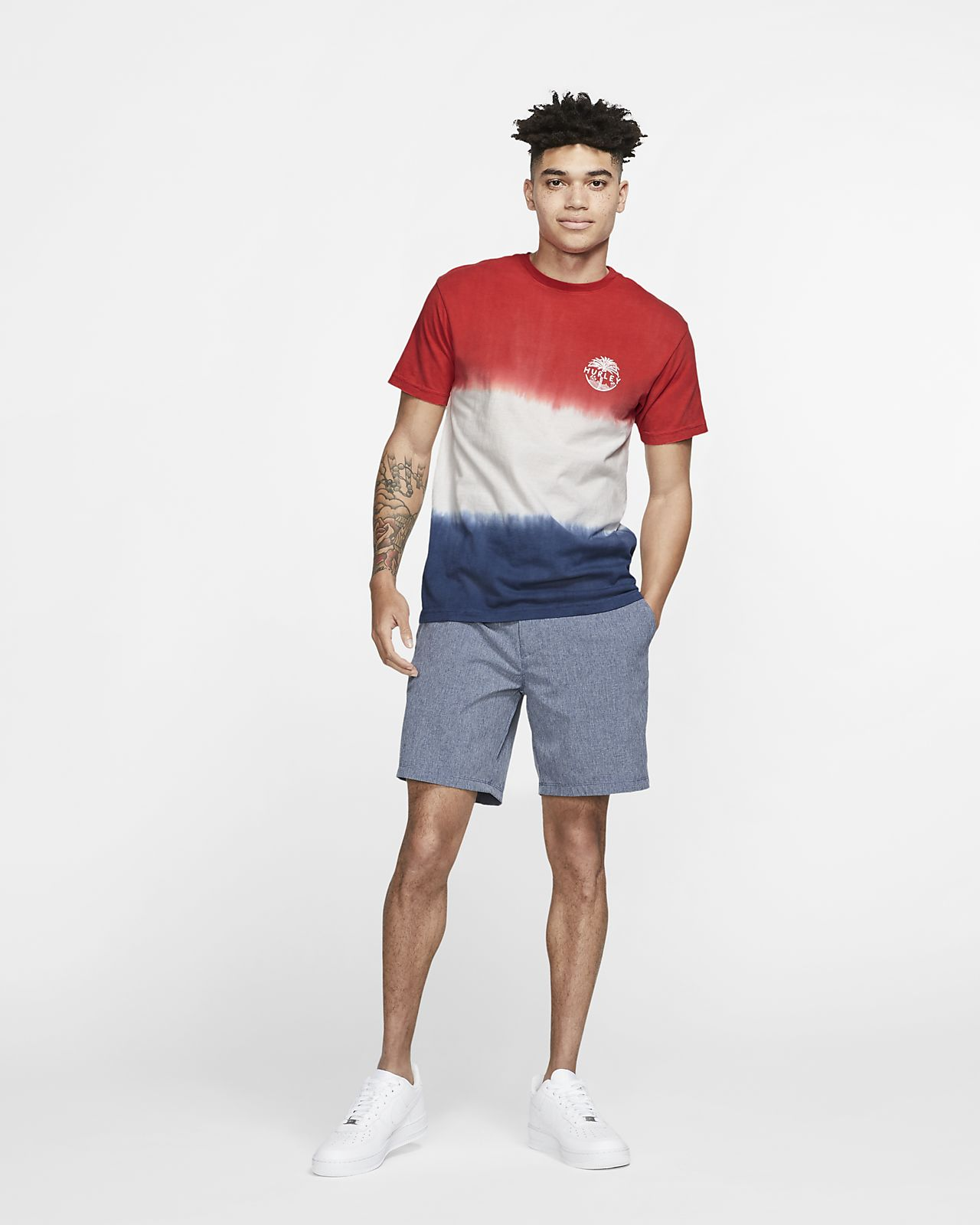 c902c7073514 Hurley USA Palmer Men s Tie Dye T-Shirt. Nike.com