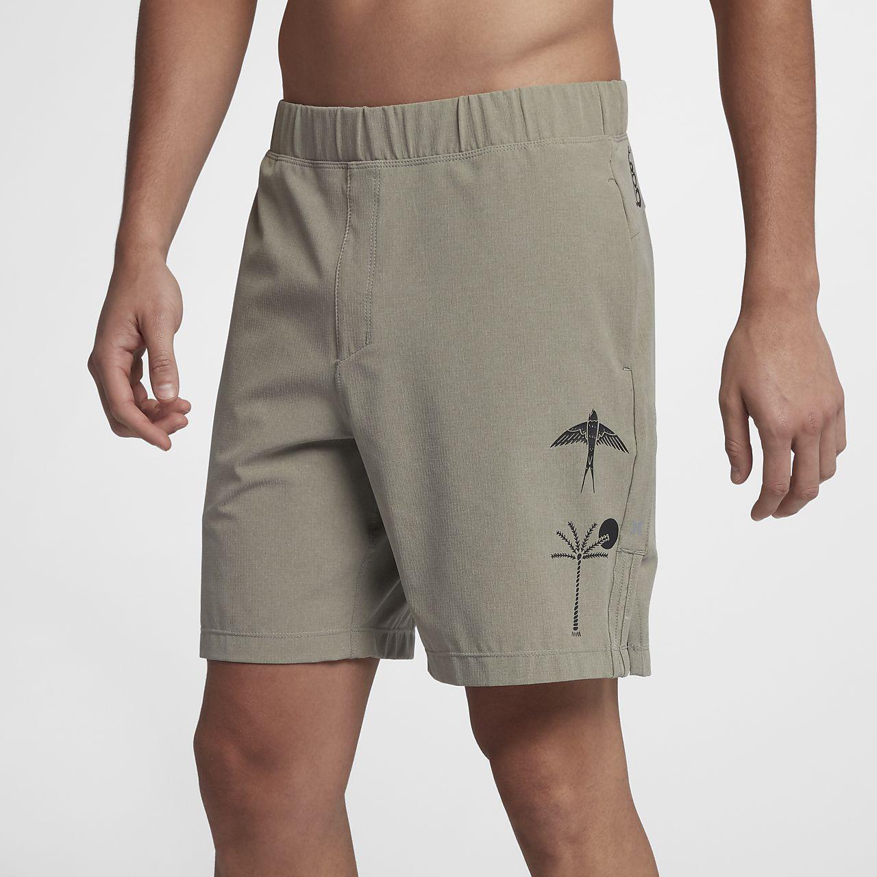 Hurley Men's Alpha Trainer K-38 Shorts 2BaIE