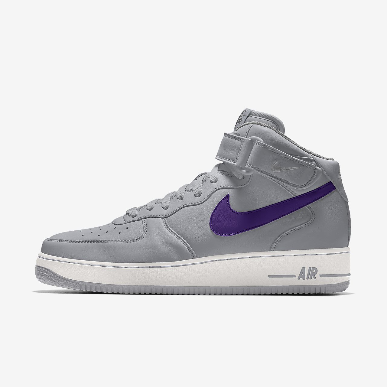 Specialdesignad sko Nike Air Force 1 Mid By You för kvinnor