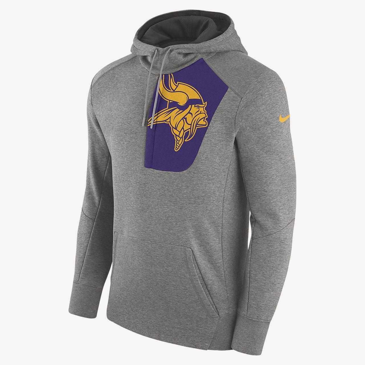 best service c0de9 e20b1 Nike Fly Fleece (NFL Vikings) Men's Hoodie