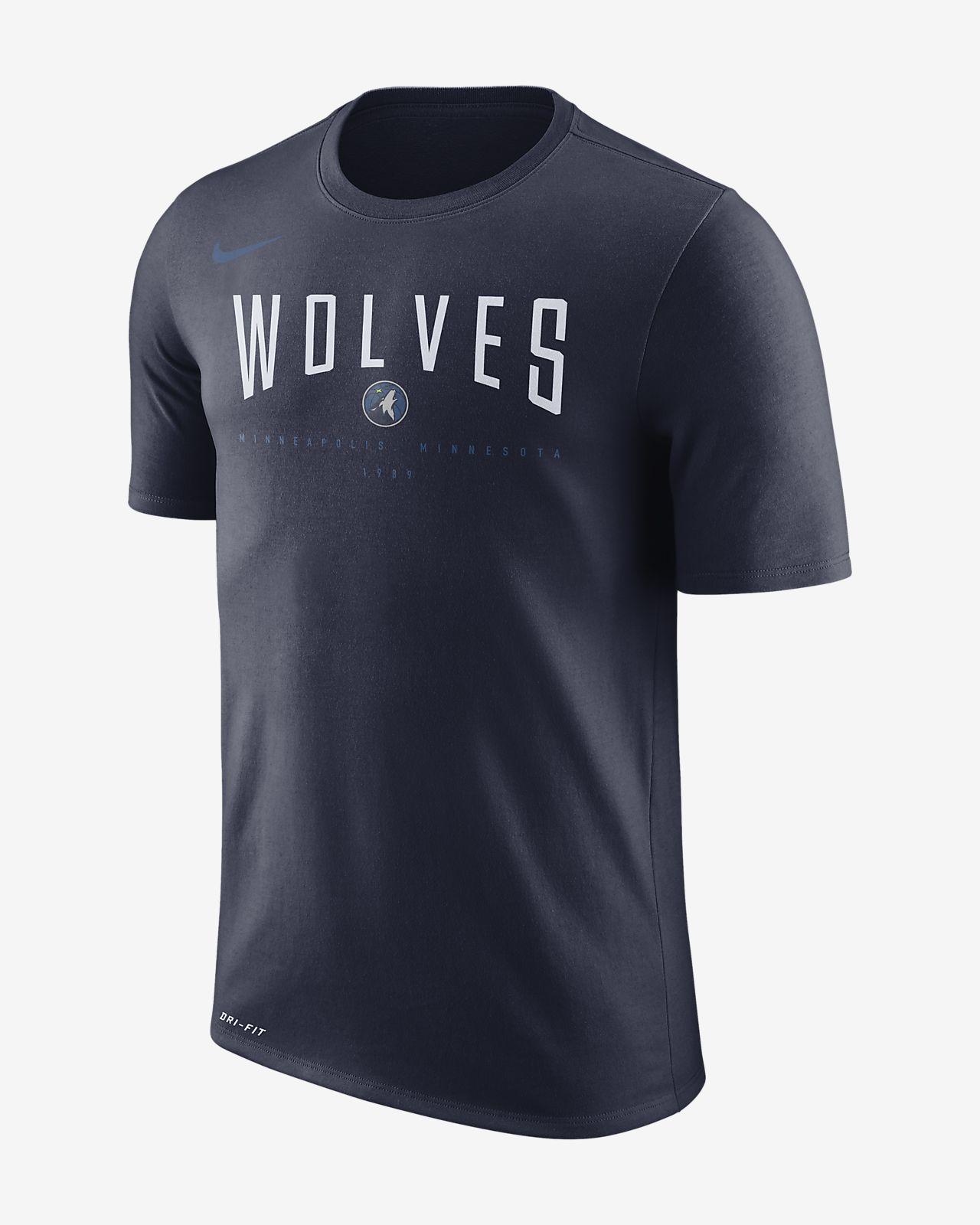 Minnesota Timberwolves Nike Dri-FIT Men s NBA T-Shirt. Nike.com bc50a6ada