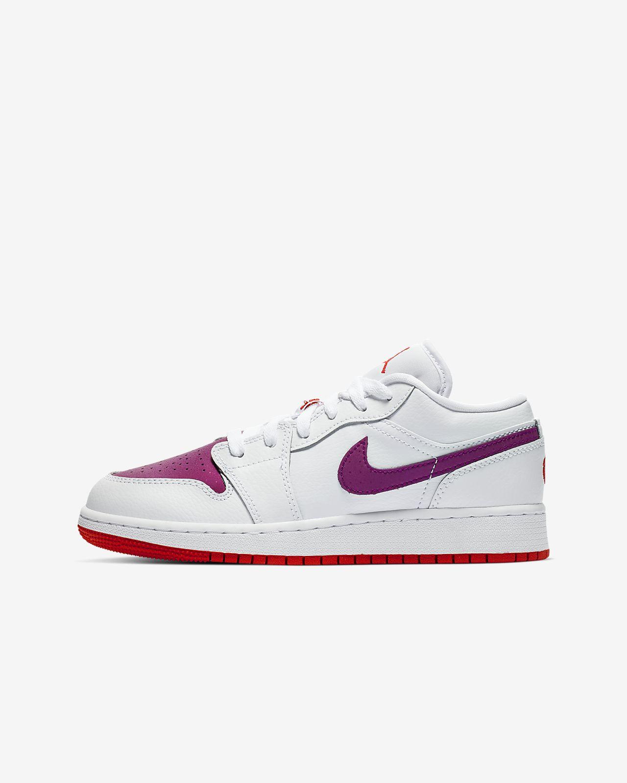 Air Jordan 1Low (GS)大童运动童鞋