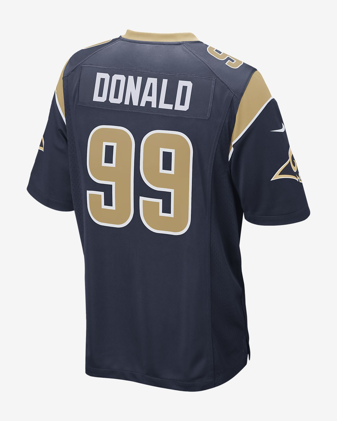 info for fb73b 5f93e NFL Los Angeles Rams Game Jersey (Aaron Donald) Men's Football Jersey