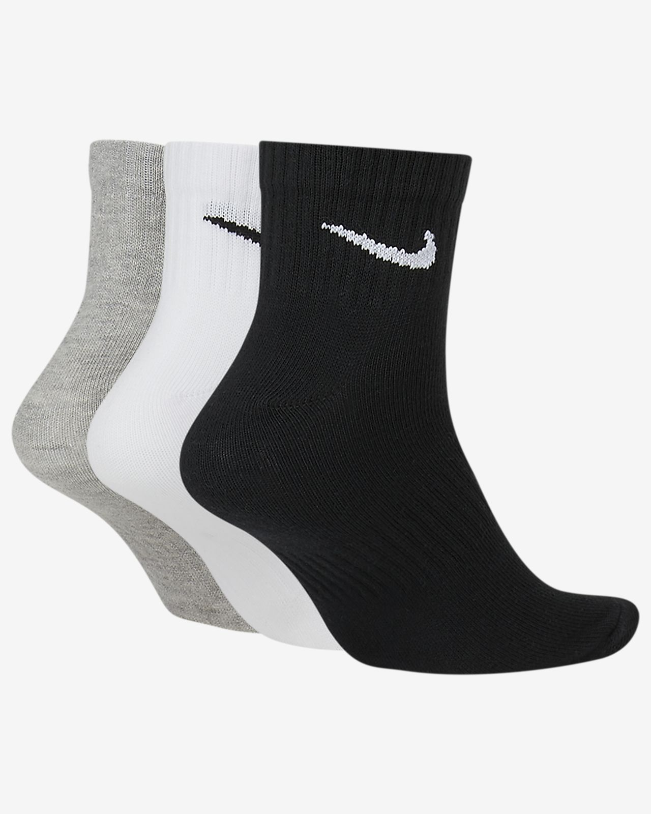 NIKE CALZE PERFORMANCE COTTON BASSE (3 PAIA), Acquista