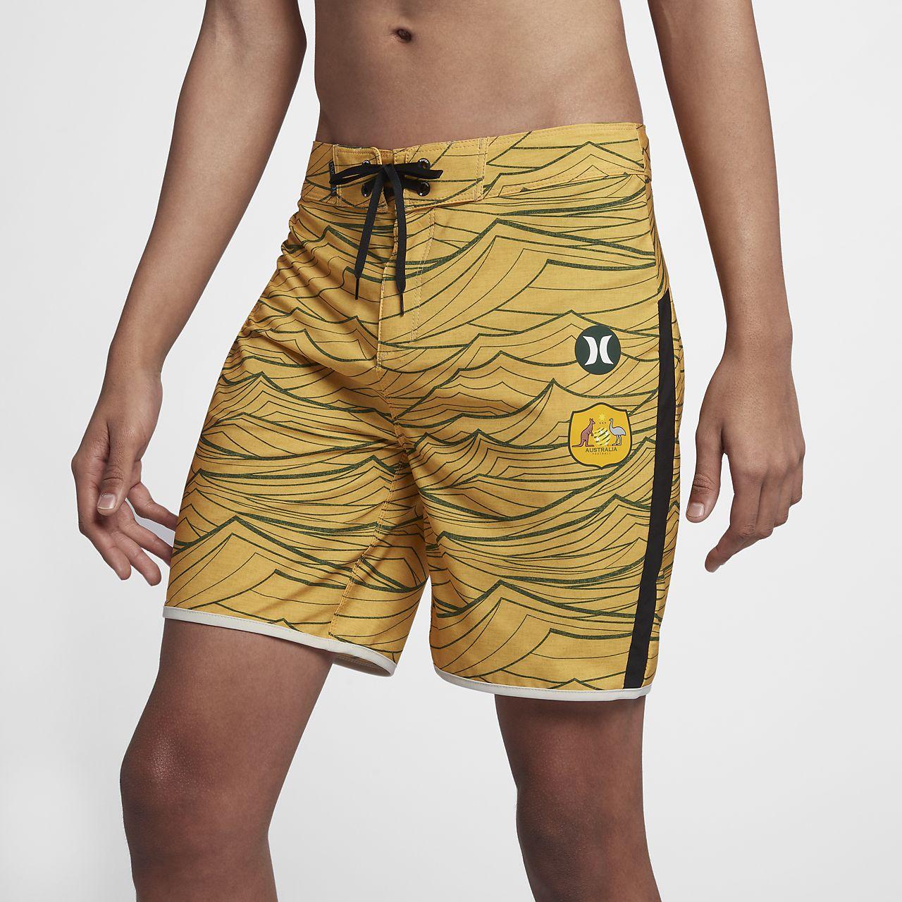 Calções de banho de 45,5 cm Hurley Phantom Australia National Team para homem