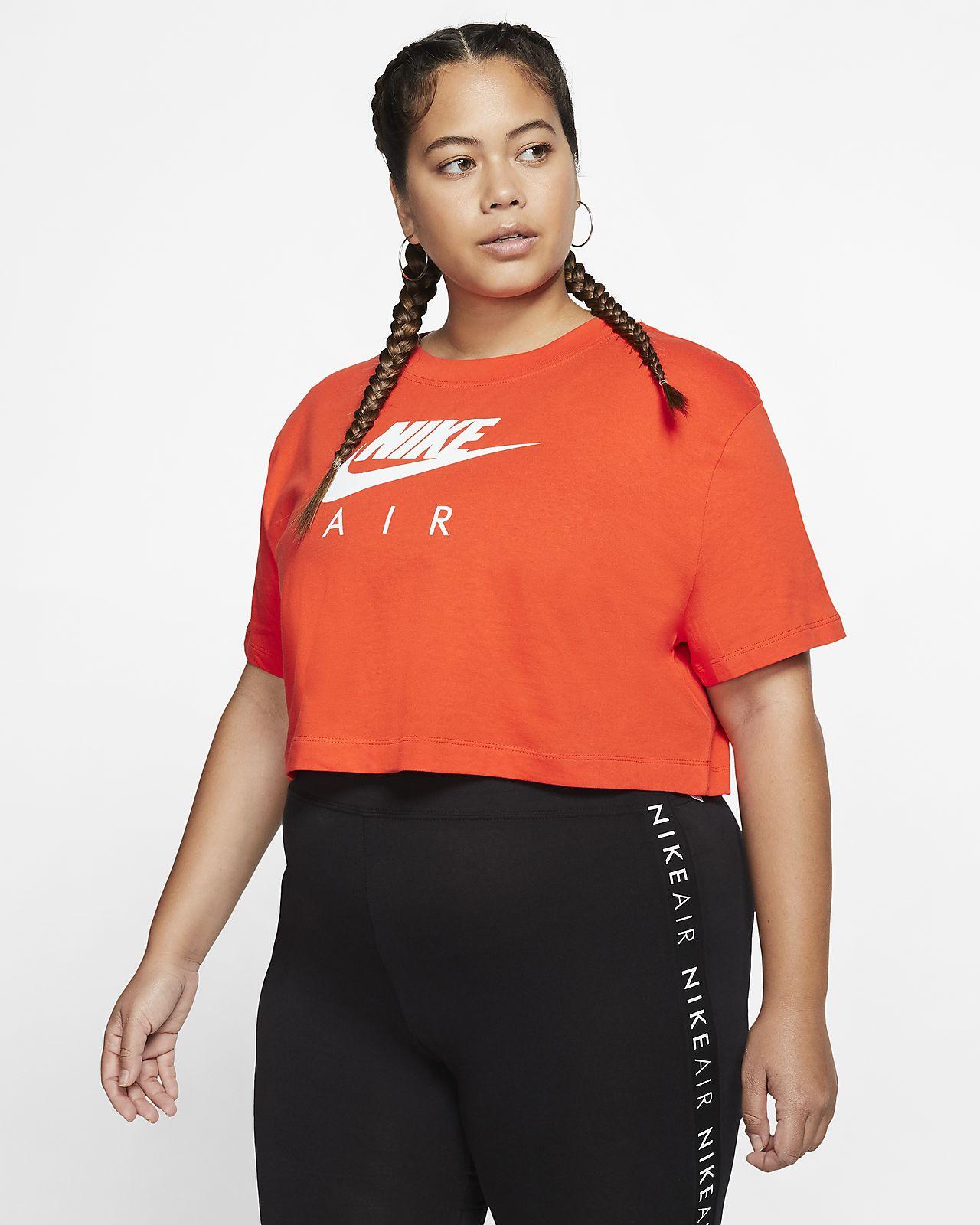 Haut à manches courtes Nike Air pour Femme (grande taille)