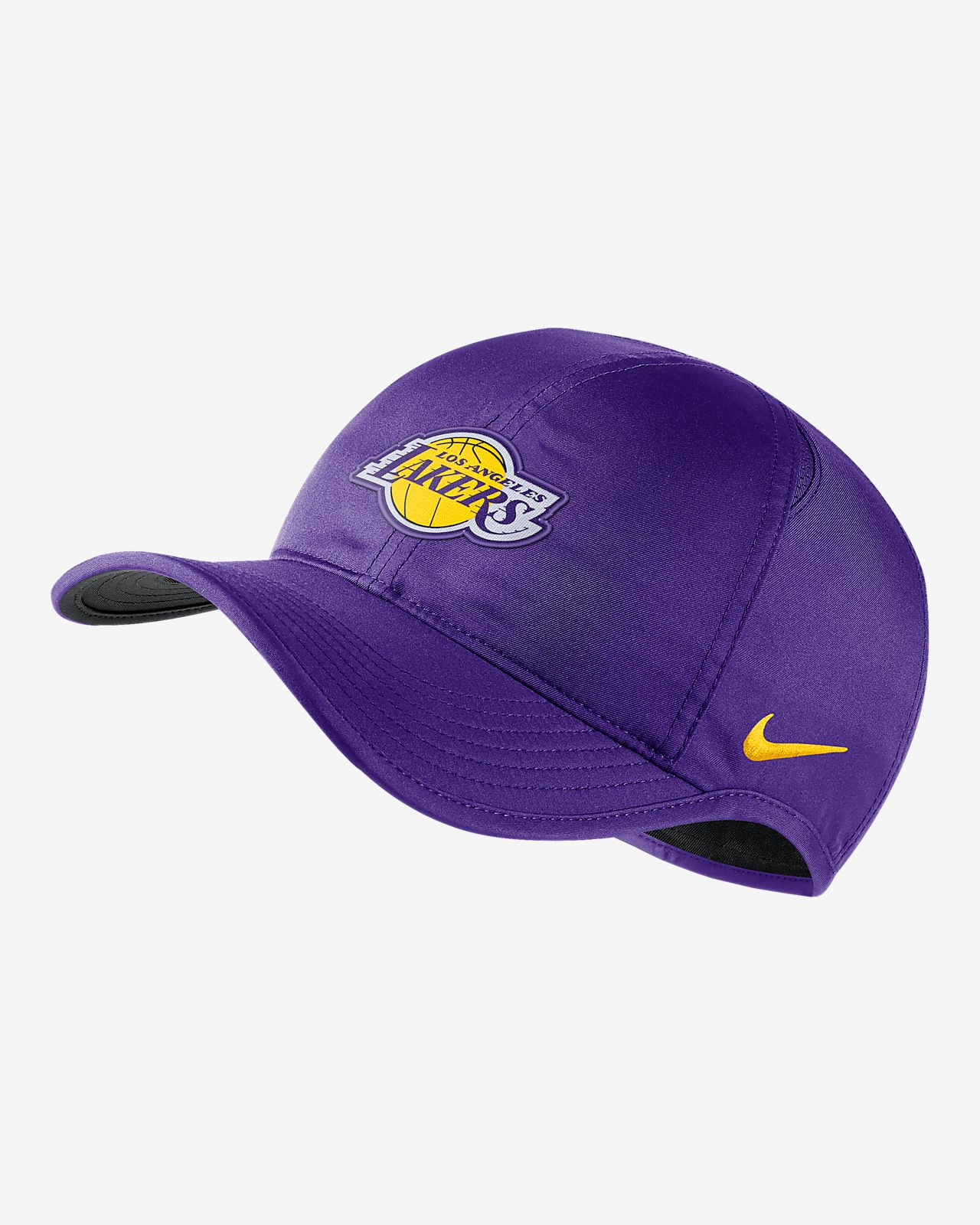 Los Angeles Lakers Nike AeroBill Featherlight NBA Hat. Nike.com 295b0b955ac